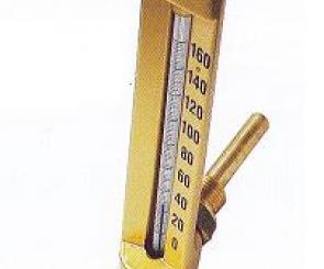 Thermomètre industriel