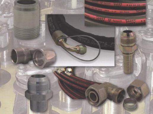 Embouts à sertir, douilles, tuyaux flexibles en caoutchouc et matières thermoplastiques, adaptateurs, raccords à bague, embouts à visser ...